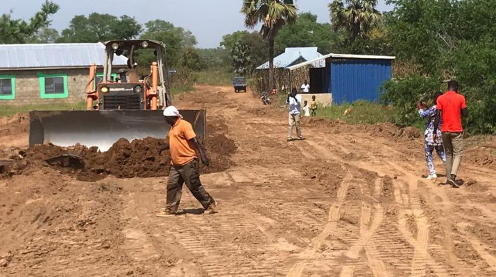 ROADS IN BONGO TOWNSHIP RECEIVING MASSIVE FACELIFT