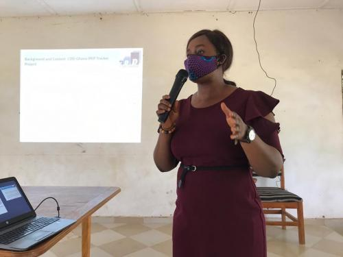 CDD Shares Research Findings On IPEP Tracker Projects in Bongo